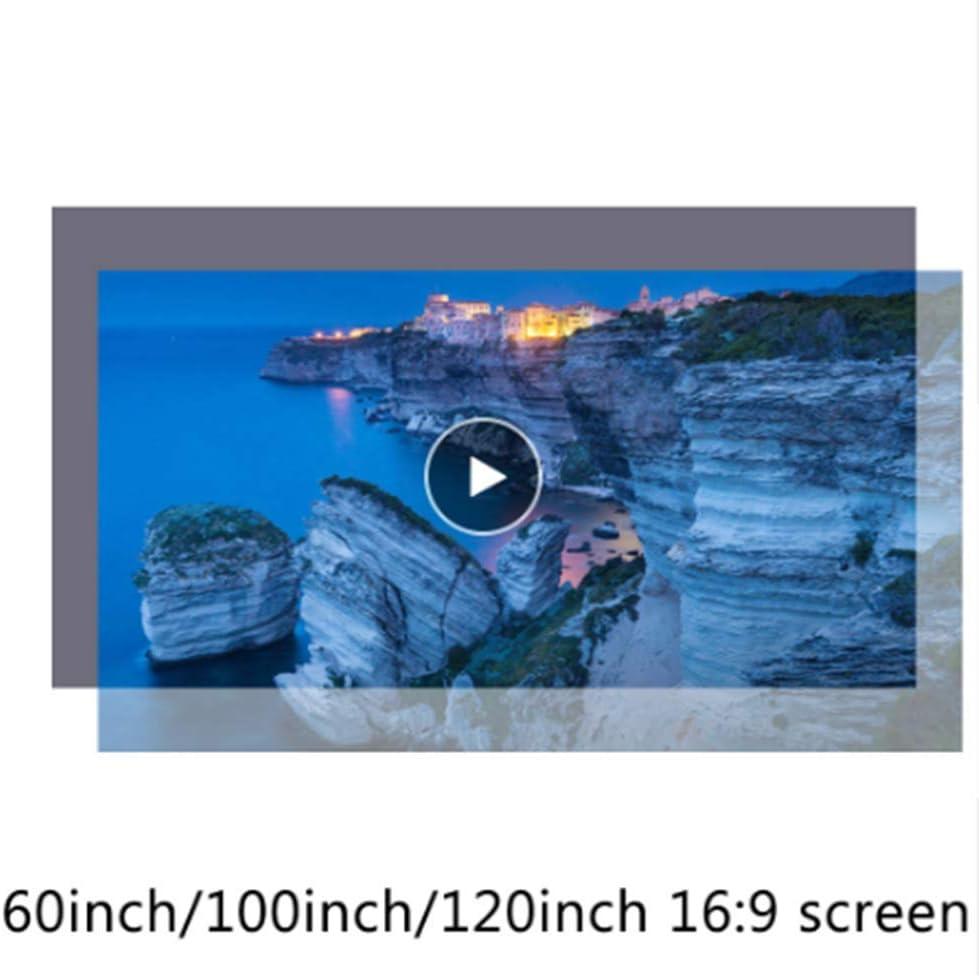 OSB STYLE Pantalla de proyector de Tela Reflectante 60 100 120 133 ...