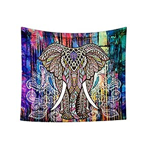 GoodPing Indian Bohemian Elephant Tapestry Decor Home Hippie Tapestry Wall Hanging