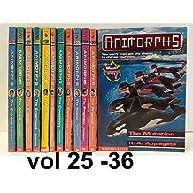 Animorphs Set, Books : 25 - 36 (vol 25 to 36)