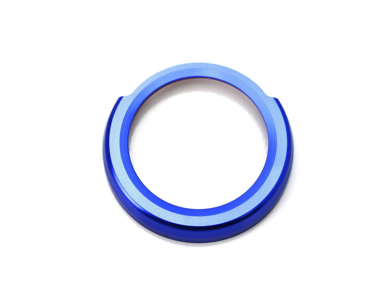 iJDMTOY Auto Accessories Peel-N-Apply Self-Adhesive Ring//Cover iJDMTOY Anodized Blue Aluminum Keyless Engine Push Start Button Decoration Ring Trim For BMW 2 3 4 Series X1 F22 F30 F32 F34 F48
