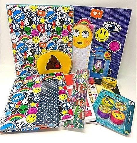 d28b806275 Amazon.com  Emoji Smiley Back to School Kids Teens Toddlers Pencil ...