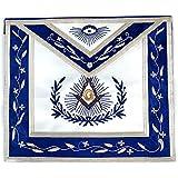 Masonic Exchange Blue And White Master Mason Apron