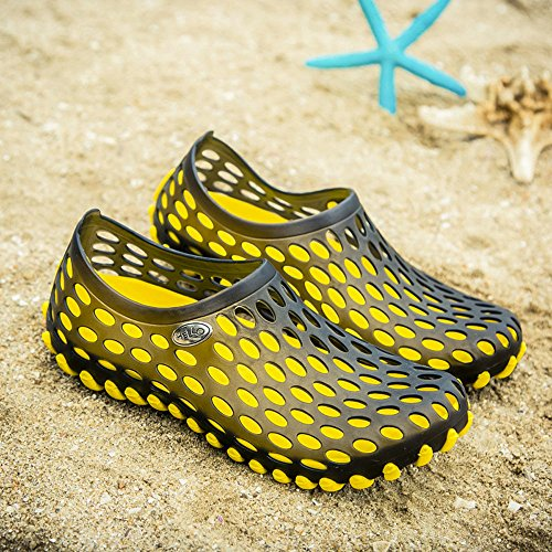 Los Transpirable Rapido ALIKEEY Al Amarillo Aire Secado Zapatilla Sandalias Hombres De Zapatos Playa Libre De De Mujer Unisex De vxAwXBA