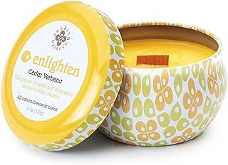 product image for Root Candles Seeking Balance Spa Traveler Candle, 4-Ounce, Enlighten: Cedar Verbena
