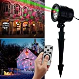 Christmas Laser Lights Projector-NexTrend Led Laser Light Projector Led with Wireless Remote Controller (Five Christmas Project Patterns Available)