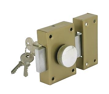 Cogex 80804 - Cerradura de seguridad (con pomo interior): Amazon ...