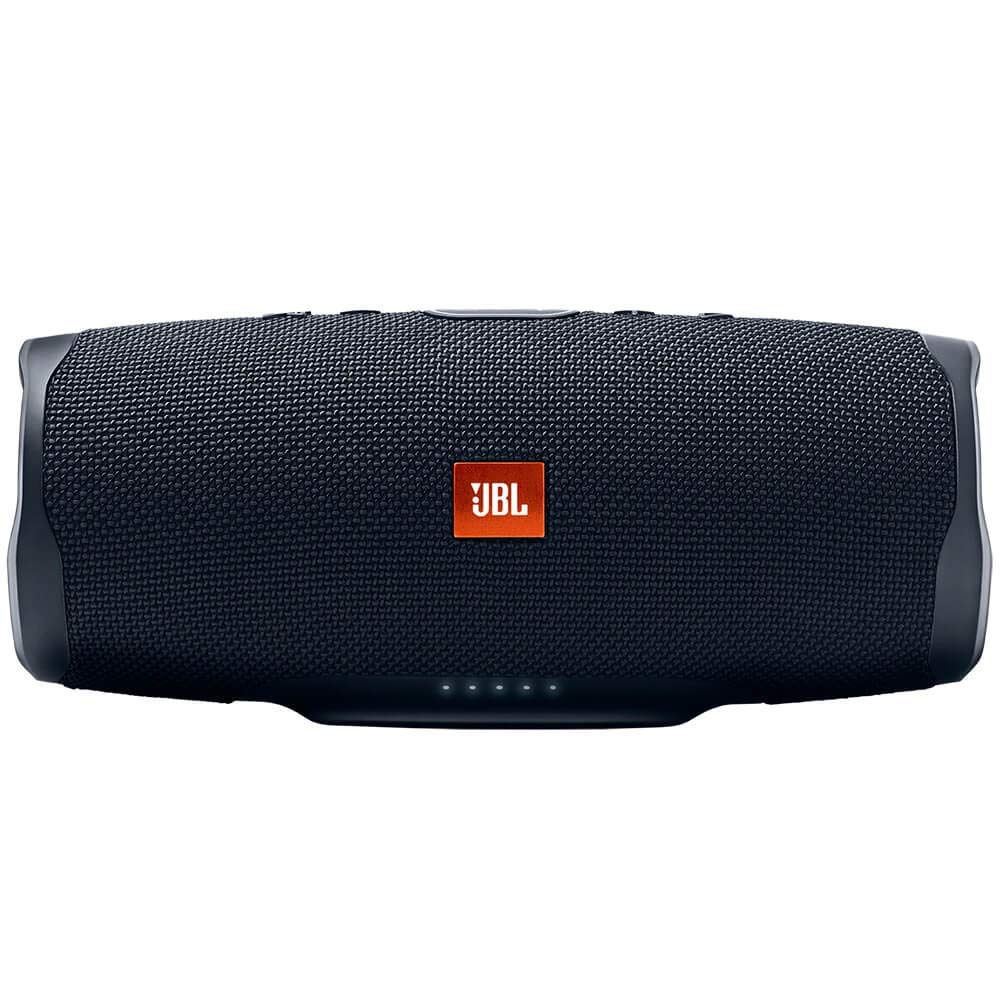 JBL Charge 4 Portable Waterproof Wireless Bluetooth Speaker - Black (Renewed) by JBL