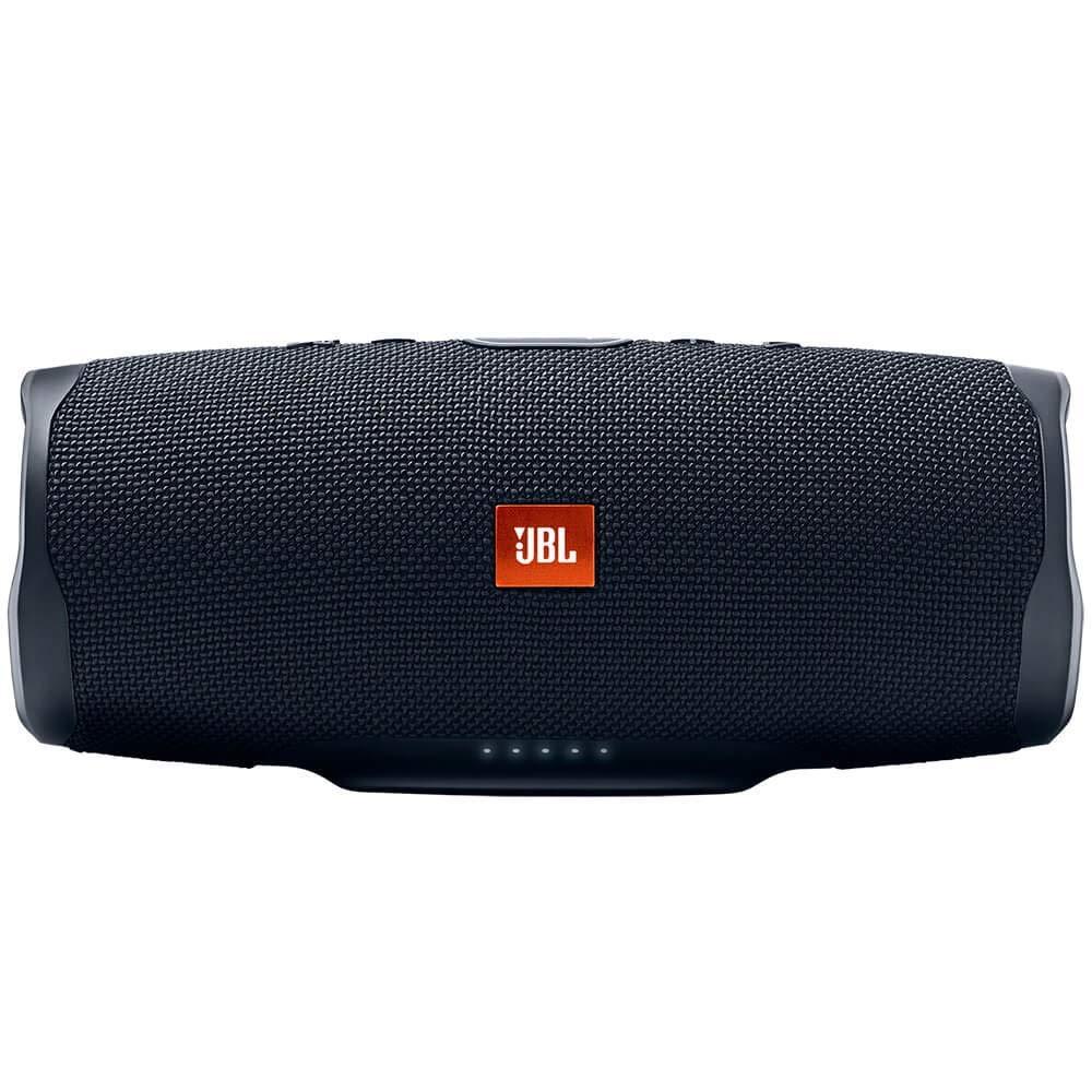 JBL Charge 4 Portable Waterproof Wireless Bluetooth Speaker - Black (Renewed)