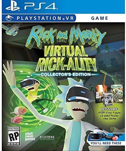 Rick and Morty Virtual Rick-ality Collector's Edition PlayStation 4 リックアンドモーティバーチャルリックアライティコレクターズエディションプレイステーション4北米英語版 [並行輸入品]