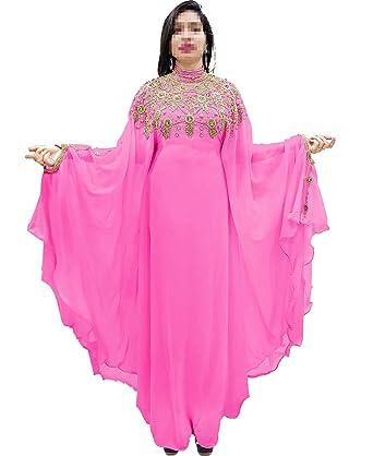 6d19013ff53bb African Boutique Dubai Kaftan Abaya Jalabiya Maxi Gown Hand Work Golden  Beaded African Dress - Baby