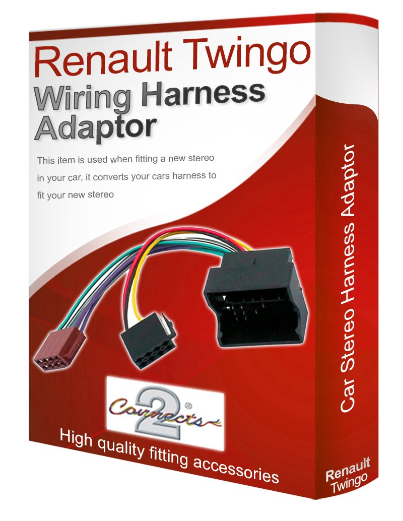 Renault Twingo CD radio stereo wiring harness adapter lead loom ...