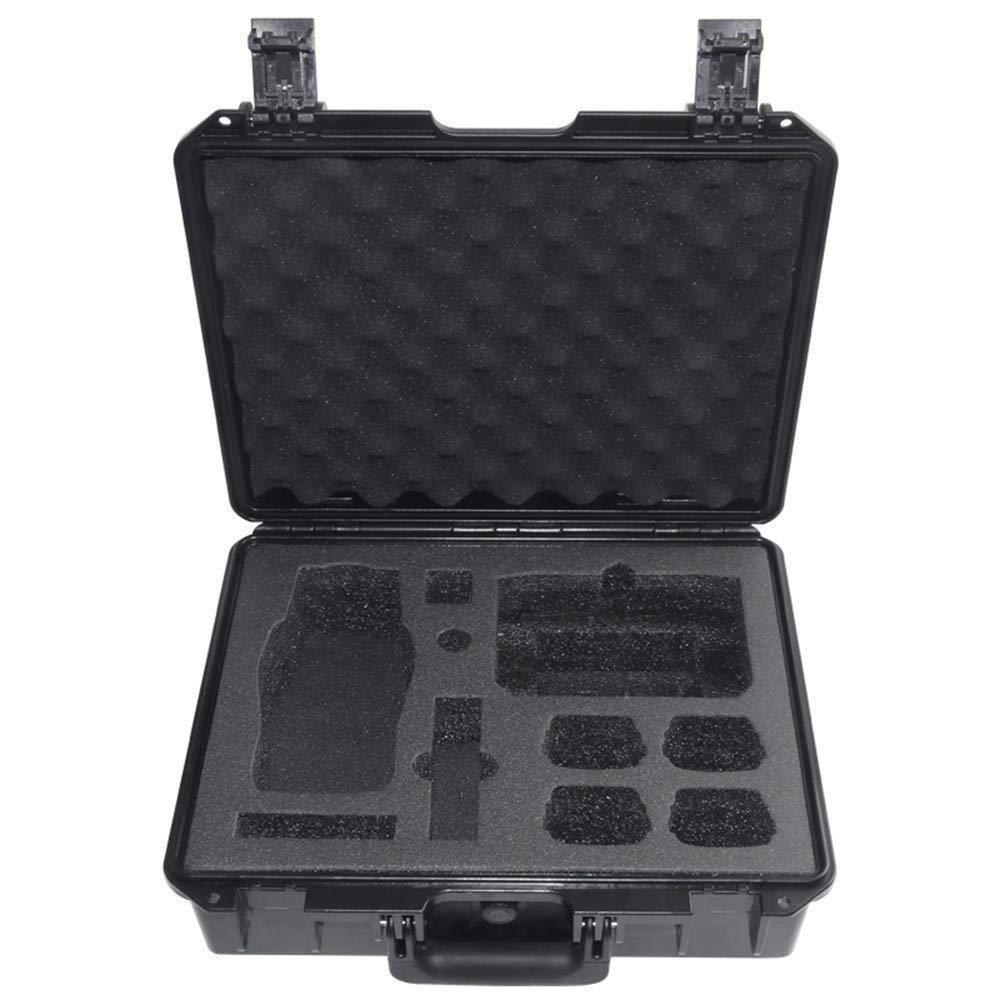 Zhaowei ミリタリー仕様 転倒防止ハードシェルキャリーケース DJI Mavic 2 & スマートコントローラー用 410x330x145mm ブラック Zhaowei B07P5NDGSX  ブラック