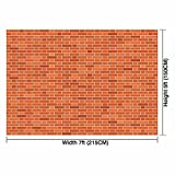 Allenjoy 7x5ft Street Themed Backdrop Brick Wall for Kids Boys Girl s 1st First Birthday Party Decor decoation Photo Booth