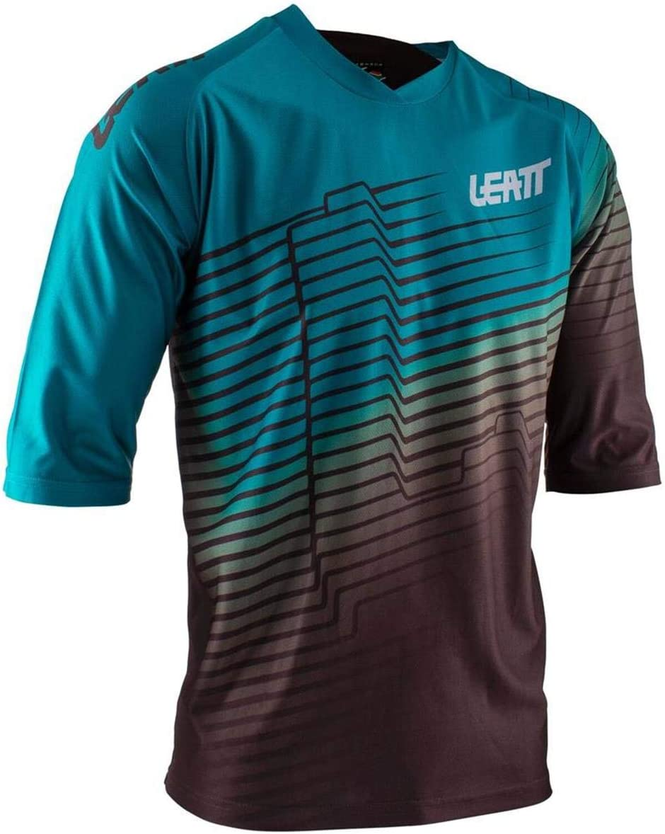 Leatt Downhill-Jersey 3//4 Arm DBX 3.0 Forest