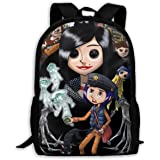 Amazon Com Loungefly Coraline Tunnel Backpack Clothing