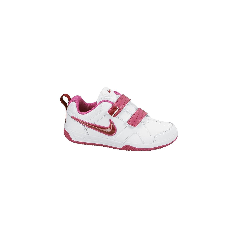 PSV Nike Lykin 11 Color Blanco//Rojo//Rosa - Zapatillas de Tenis para ni/ña