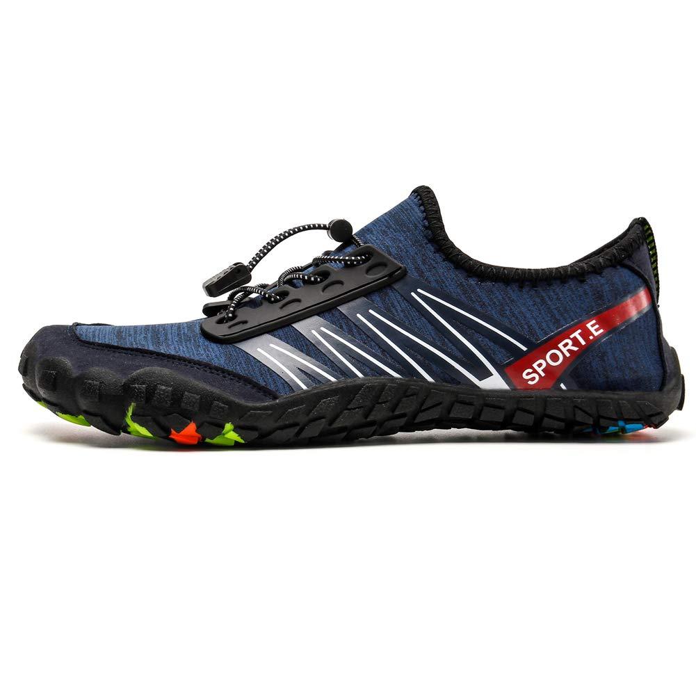 Zapatos de Agua Ni/ño Qimaoo Zapatos de Agua de Nataci/ón Ni/ños Zapatos de Playa para Ni/ños Descalzo Barefoot Agua Respirable Calcetines para la Aire Libre Piscina de Playa Surf Yoga
