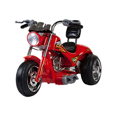 Red Hawk Motorcycle 12V in Red: Sports & Outdoors