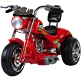 Red Hawk Motorcycle 12V in Red