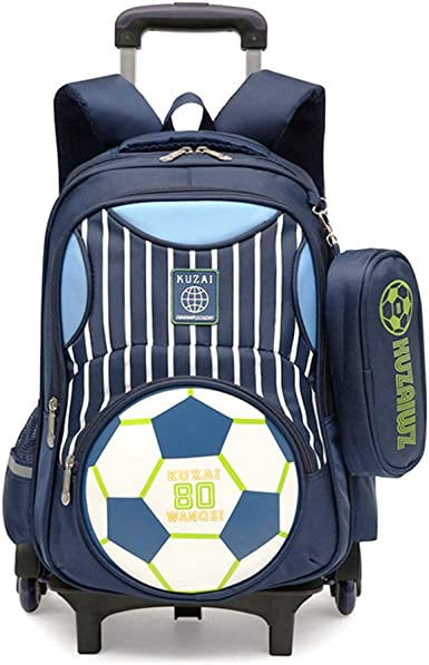ZQ - Mochila de balón de fútbol para niños, mochila reflectante ...