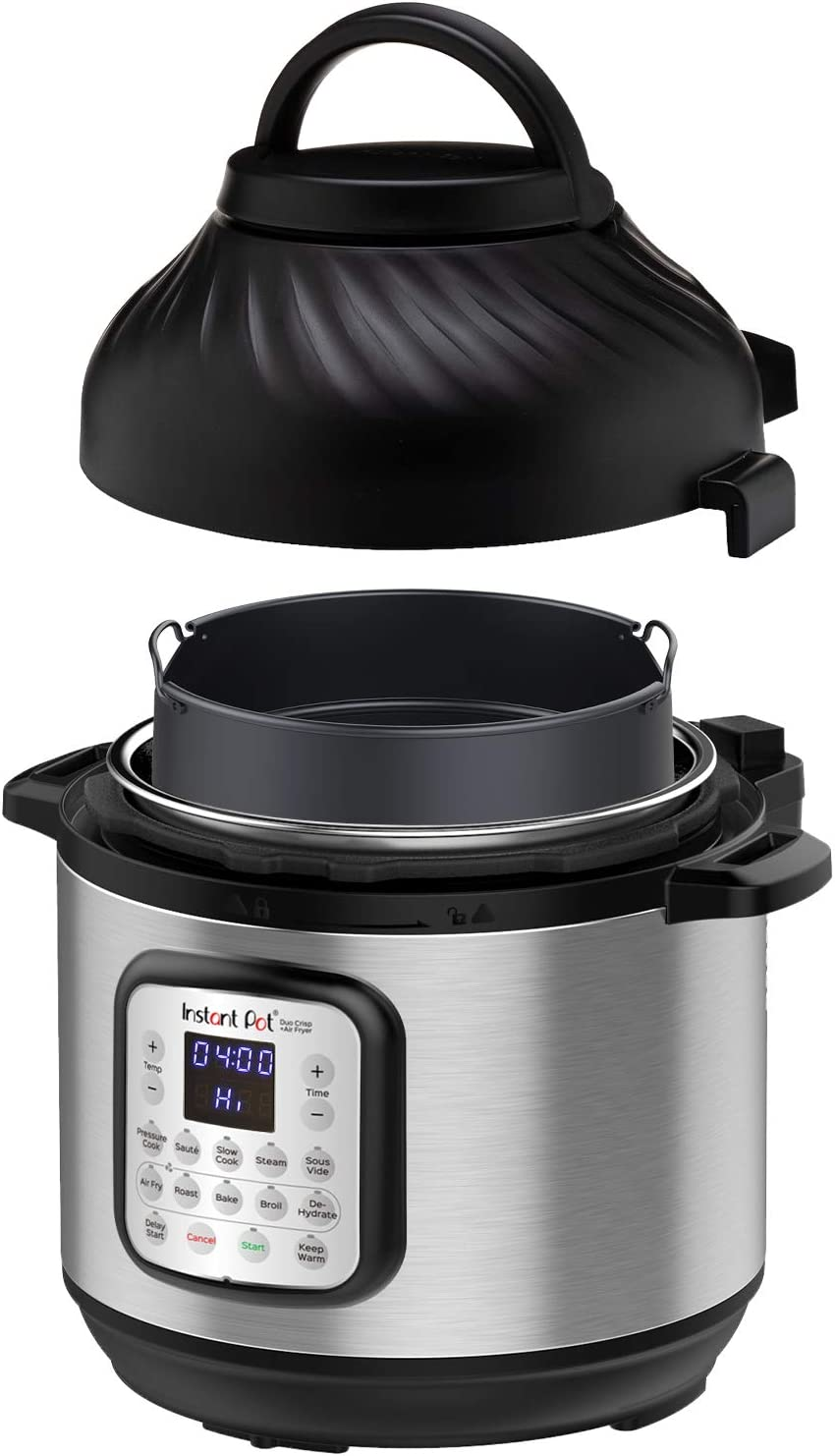 Instant Pot 8 Quart 11-in-1 Duo Crisp Pressure Cooker with Air Fryer