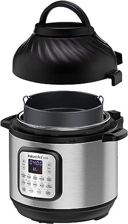 Instant Pot Air Fryer + EPC Combo 8QT Electronic Pressure Cooker