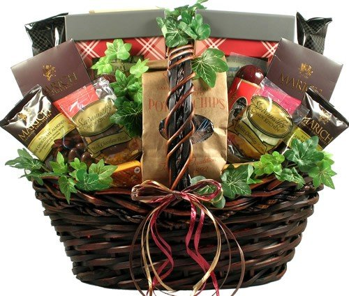 Gift Basket Village The Grand Gourmet Gift Basket by Gift Basket Village
