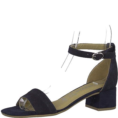 Tamaris 1 1 28240 22 Femme Sandales,Chaussure d'été,Bracelet,élégant,féminin,Talon Moyen Haut,Touch IT