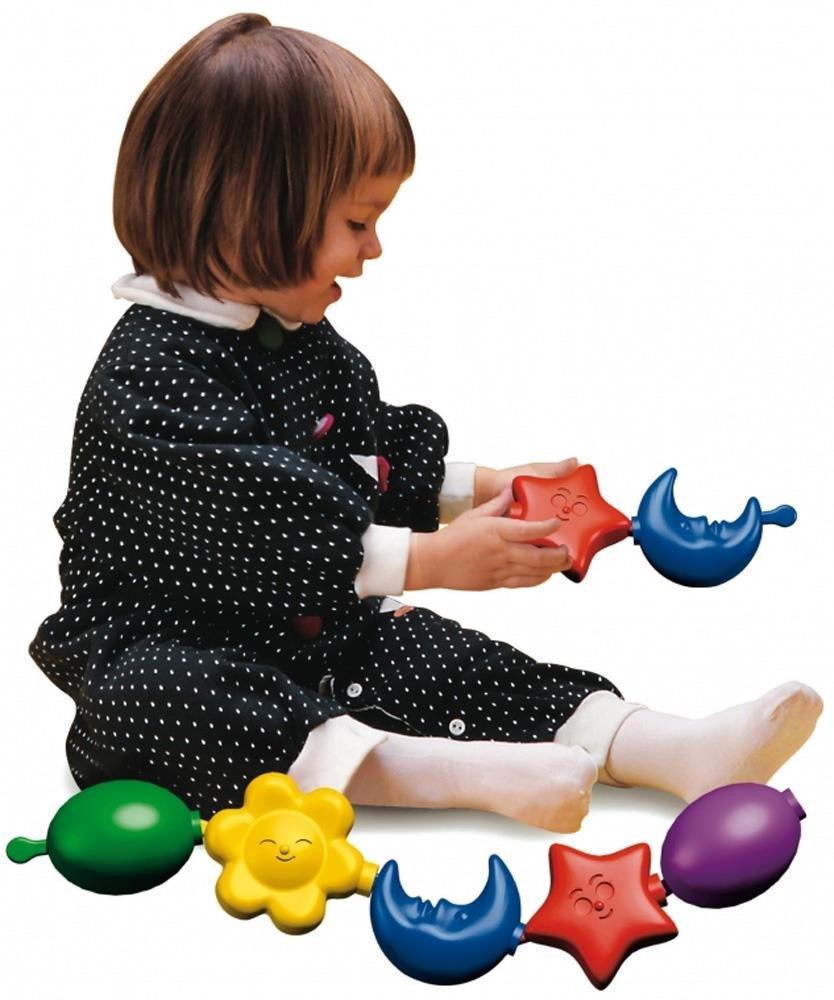 Jeu /éducatif premier /âge Quercetti Daisy Collier 12 Formes Color/ées /à Assembler 13//4006