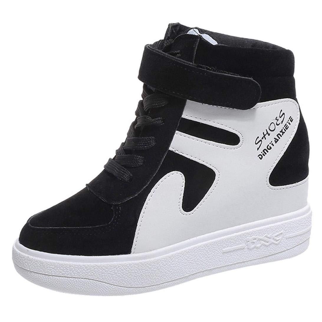 Dragon868 Sneakers Donna Scarpe Zeppa Interna Scarpe Alte 7Cm ... 400bb2600a8