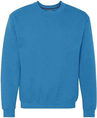 f0925f6be1a158 Gildan G920 Premium Cotton Ringspun Crew T-Shirt - Sapphire - M (US): Amazon .co.uk: Clothing
