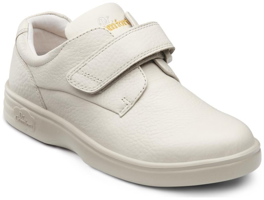 Dr. Comfort Maggy Women's Therapeutic Diabetic Extra Depth Shoe: Beige 9 Wide (C-D) Velcro