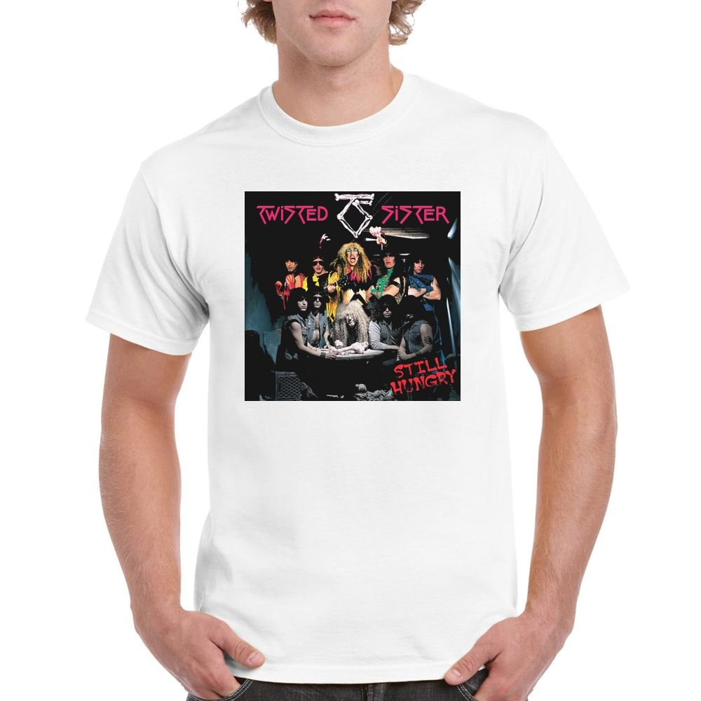 Almeer Short Twisted Sister Heavy Metal Band S T Shirt