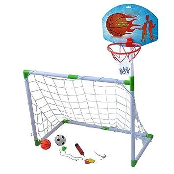 LEOO Soporte de Baloncesto para niños Juego de Baloncesto de ...