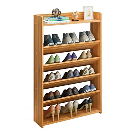 Amazoncom Shoe Rack Slant Inserted Shoe Cabinet Ultra Thin 17cm