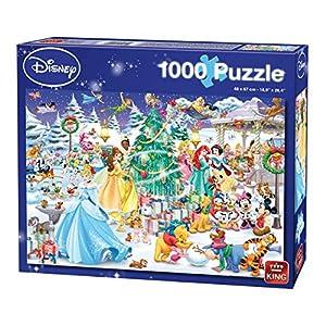 King 5266 Disney Christmas Puzzle Da Pezzi 68 X 49 Cm