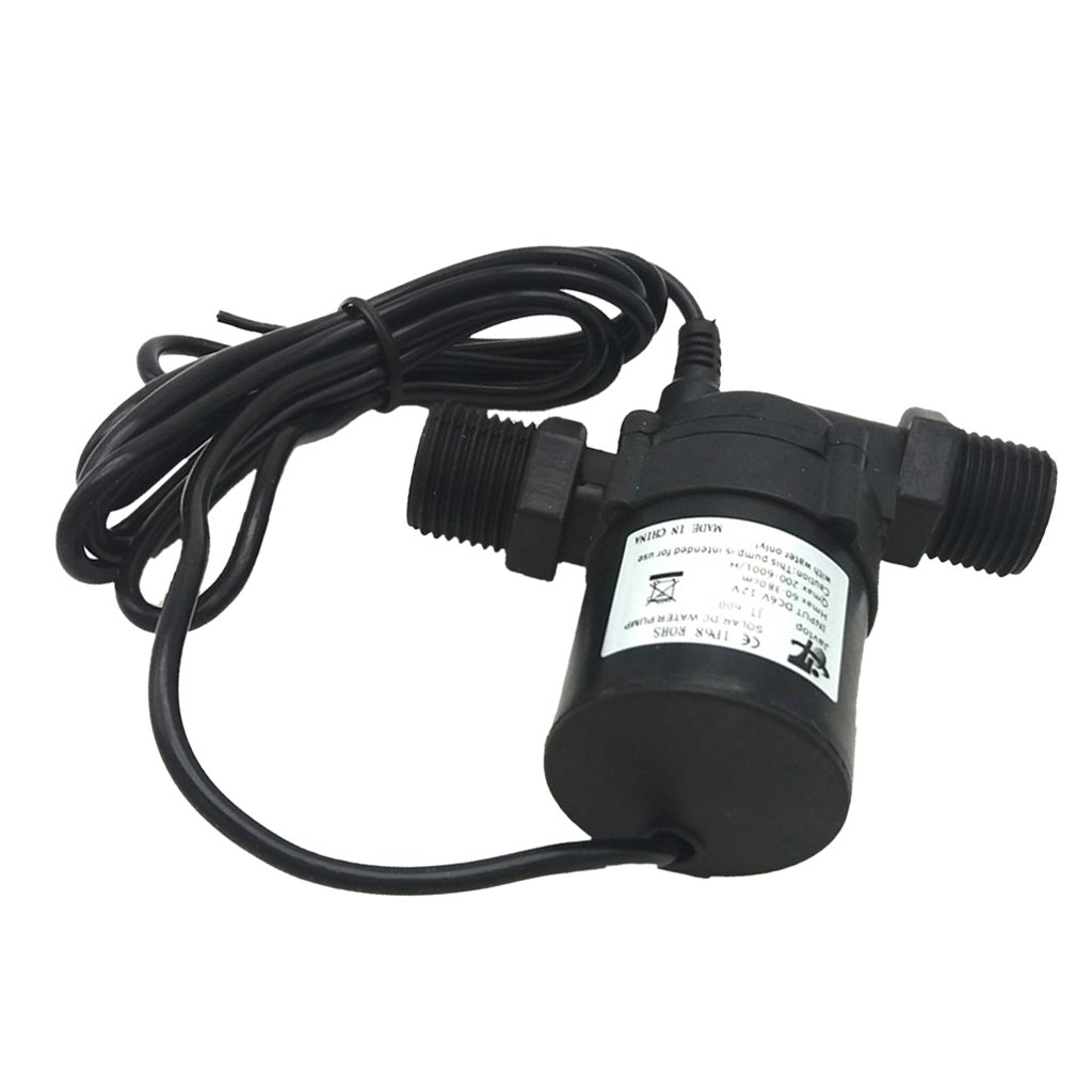MagiDeal DC 24V 900L/H Ultra Quiet Water Circulation Pump Brushless Submersible Pump