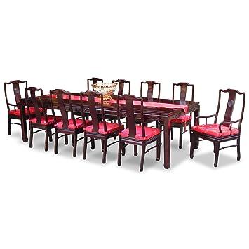 Amazon.com: China Muebles en línea Mesa de comedor de madera ...