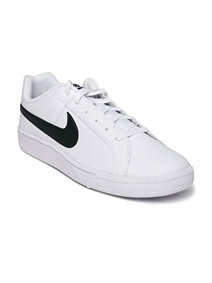 f34ce35d1628e9 Nike Men White Solid Court Royale Sneakers (8UK)  Buy Online at Low ...