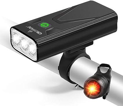 High Quality Super Bright LED Bike Front Rear Back Light Headlight Taillight Set