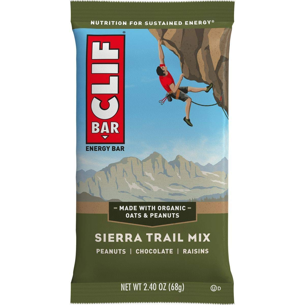 Clifbar Clif Bars - 12 Pack Sierra Trail Mix, One Size by Clif Bar