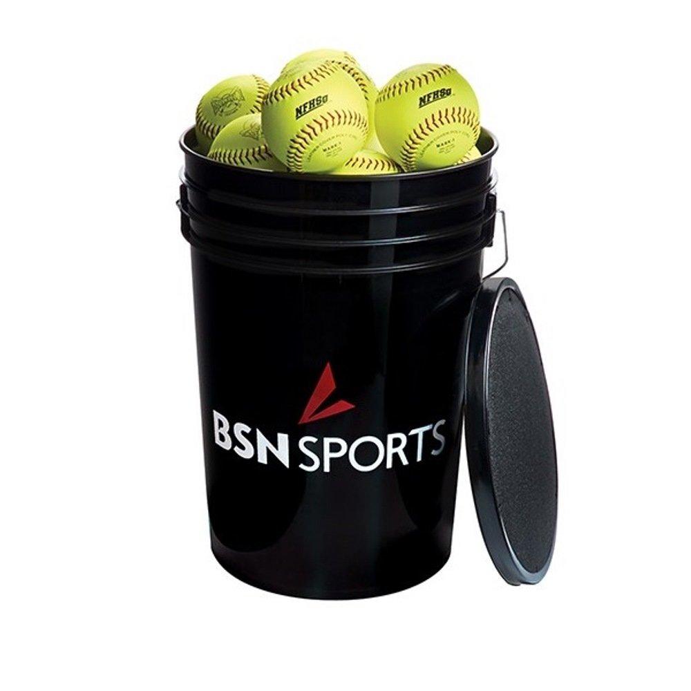BSN Sports Softballs in aバケット、12 – 2で数十 B018E2SE8U