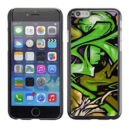 Premio Sottile Slim Cassa Custodia Case Cover Shell // V00002371 Graffiti // Apple iPhone 6 6S 6G 4.7""