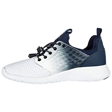 06345ab3cbeb Emporio Armani EA7 Chaussures Baskets Sneakers Homme 3D Simple Blanc EU  43.13 248051 8P299 03736