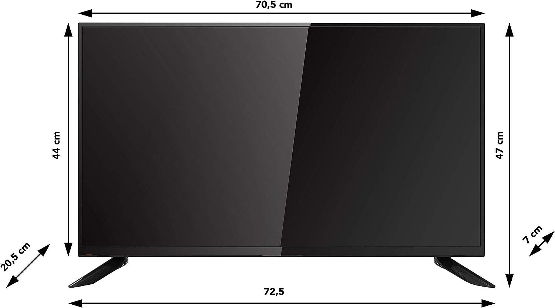 RCA RB32H1 LED TV (32 Pulgadas HD TV), Ci+, HDMI+USB, Triple Tuner, 60Hz, Mediaplayer: Amazon.es: Electrónica