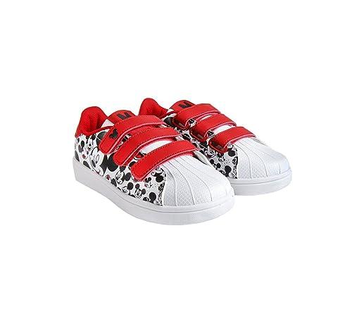 23-2605 Zapatillas de Deporte para niños Mickey Mouse Cierre de Velcro Urban (30