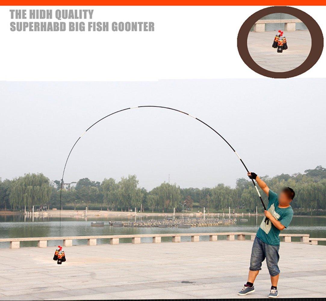 LNPP Ca?a de pescar telescš®pica de la fibra de carbono de la ca?a de pescar para Freashwater: Amazon.es: Deportes y aire libre