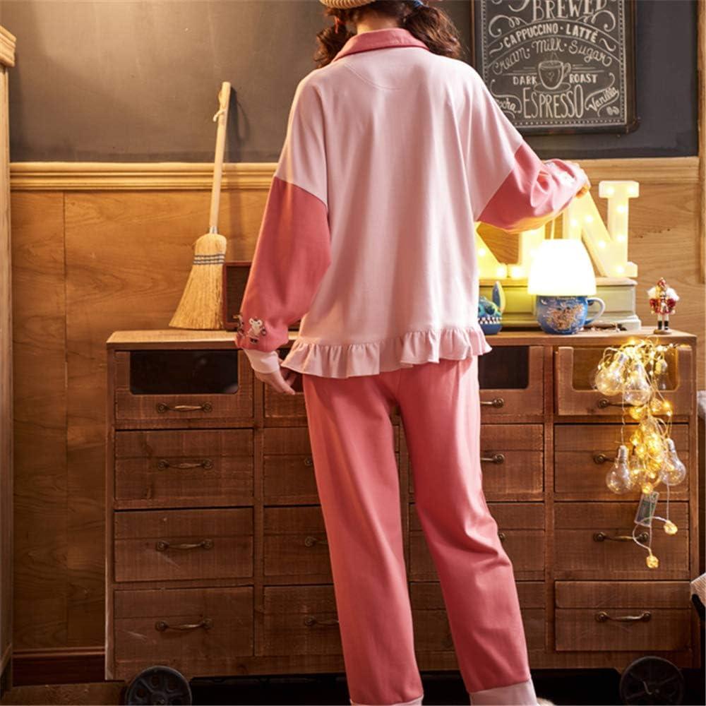 DUXIAODU Pijama de algodón para Mujer | Suave y Confortable ...