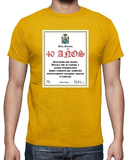 latostadora - Camiseta Gran Reserva 40 Anos para Hombre ...