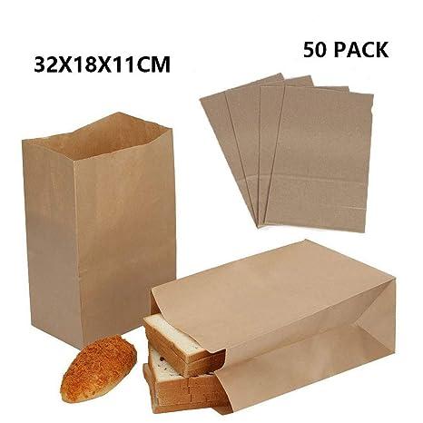 Dproptel - Bolsas grandes de papel kraft para alimentos ...